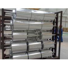 Household aluminium foil in jumbo rolls