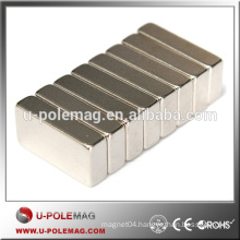 ISO/TS 16949 Certificated Customized Strong N35 F20x10x5MM Block Neodymium Magnet