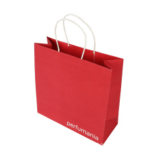 Eco-Friendly Printing Service Paper Gift Bag for Clothing Carrier Gift Bag Manufacturer with Handle