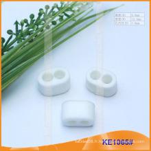 Finition du cordon en plastique pour les vêtements KE1065 #
