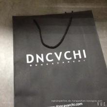 Personalisierte gedruckte Luxusgeschenk-Kraftpapier-Einkaufstasche