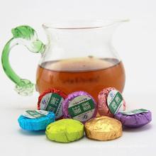JASMINE/LAVENDER/ROSE/LOTUS LEAF /OSMANTHUS/GLUTINOUS RICE/ORGINAL taste pu'er tea mini TUOCHA, premium Shu Pu Erh