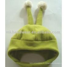 Bonnet polaire avec cornes