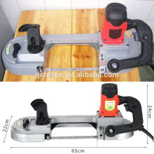 680w Speed Variable Metal/Steel/Wood Cutting Electric Power Handheld Mini Metal Band Saw Machine