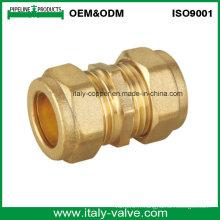 Accouplement droit en laiton avec extrémité de compression (AV7001)