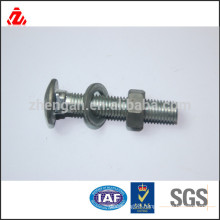 M12 carriage bolt/nut and washer