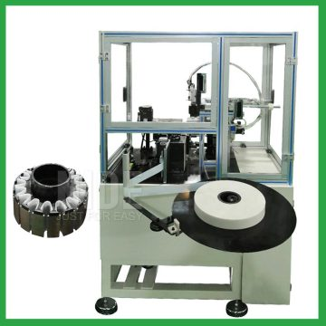 Auto outer rotor paper inserting mchine