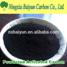 200 mesh Carbón activado en polvo basado en madera PAC para azúcar