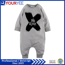 Customized OEM 100% Cotton Fashion Printed Infant Baby Romper Factory (YBY113)