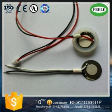 Atomiseur ultrasonique en céramique piézoélectrique attrayant de la conception 25mm avec le fil (FBELE)