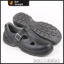 Sandal Leather Safety Shoes with Steel Toecap (Sn5331)
