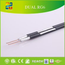 China Selling High Quality Low Price Dual RG6 Cable
