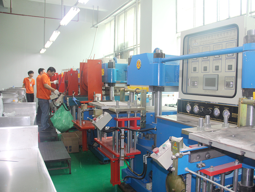 SunwayRFID vucanizing machine