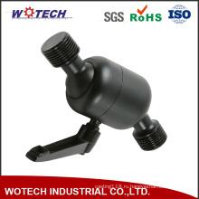 Черный анодированный алюминий CNC точности подвергая механической обработке поворачивая механически части
