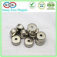 permanent n42 neodymium nickel coated magnets