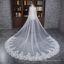 Wedding Veil 3 Meters 1 Layer Tulle/Lace 2017 New Arrival