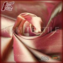 Seda Dupioni tecido para cortinas do quarto