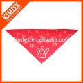 Bandana modificada para requisitos particulares al por mayor de la bufanda del triángulo del algodón