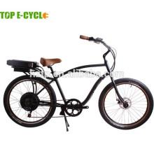 """26"""" adult 500W 48V electric beach cruiser bike/bicycle"""