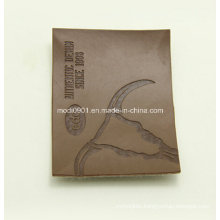 Cloth Logo Leather Patch Fashion Design Custom Jeans PU Leather Patch with Exquisit Artwork