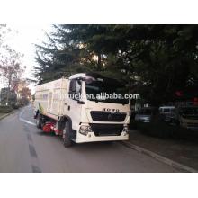 12CBM RHD HOWO barrendero de camiones / barrendero de calle / barrendero / barrendero de vacío camión / barrenderos lavadora / RHD barrendero camión