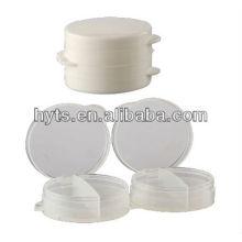 weißes Plastikglas