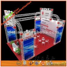 cabine de exposição modular feita sob encomenda portátil e de dobramento, 3 * 3m, 3 * 6m, 3 * 9m, 6 * 6m, 6 * 9m