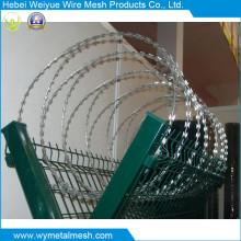 Contertina Wire pour la clôture de treillis métallique