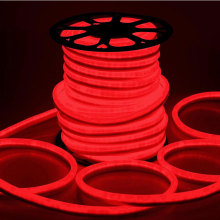 Luz de neón de LED de luz de neón LED roja para interiores al aire libre