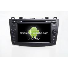 HOT! Voiture dvd avec lien miroir / DVR / TPMS / OBD2 pour 8 pouces écran tactile complet 4.4 Android système MAZDA3