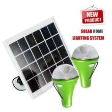 Sistema de iluminação de energia solar, luz de energia energia solar portátil em casa, energia solar para iluminação