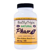 Carb Controller, Hilft bei der Gewichtskontrolle, Phase 2, Extrakt aus weißen Kidneybohnen, 500 mg x 180 Stück