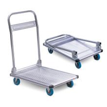 Carro de mano plegable de la plataforma de aluminio