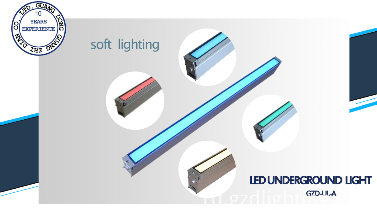 led inground light soft lighting