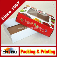 Caja de regalo de papel, caja de embalaje