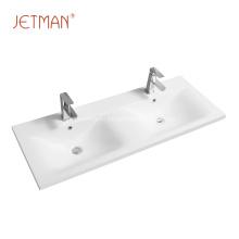 керамическая раковина из фарфора для мытья рук двойная раковина для ванной комнаты
