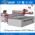 1500 * 2500mm cnc tipo de cantilever pedra máquina de corte