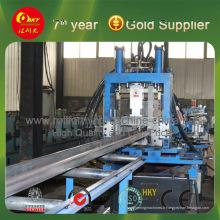 Ligne de production de profileurs à fourrures en acier de formes CZU