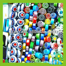 low price many shapes and colors millefiori glass beads
