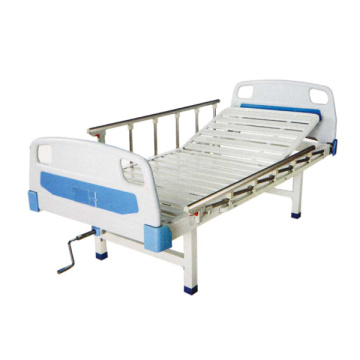 Cama de hospital manual semi-fowler