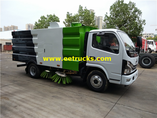Airport Runway Sweeper Vehicle