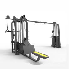 Venda quente 5- estação ginásio integrado trainer equipamentos multi ginásio máquina
