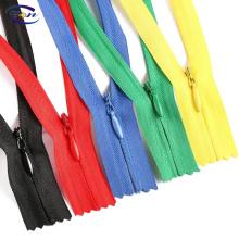 No.3 closed zipper dress hidden invisible nylon zipper with high quality