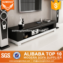 simple beautiful living room furnitures malaysia style pvc leather TV stand