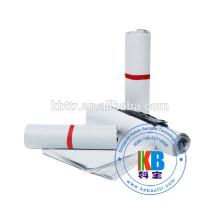 Sachet en plastique personnalisé en polyéthylène blanc