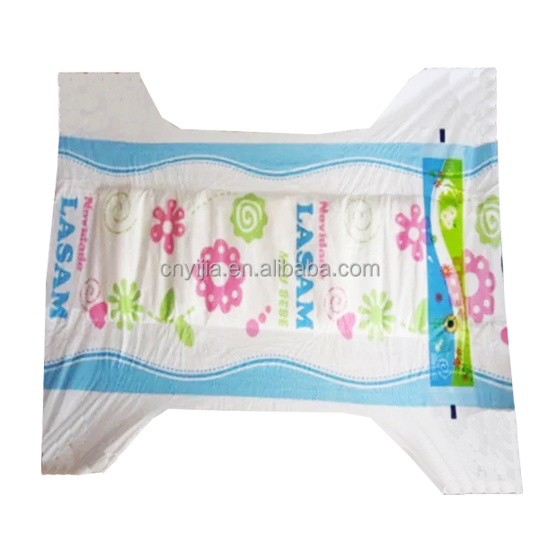 Lasam brand Disposable Baby Diapers for Africa market Angola and Congo