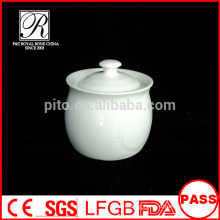P&T porcelain factory square sugar bowl, round sugar bowl with cover