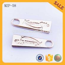 MZP58 Petits extracteurs à fermeture à glissière en métal sac à dos en métal sac à main tireur pour vêtements