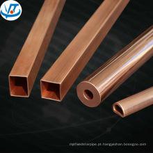 Tubo retangular de latão / tubo de cobre retangular