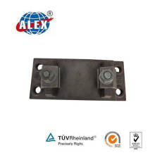 Zg35 Tie Plate for Railroad System